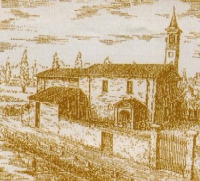 Santa Maria (litografia Frigerio)